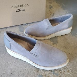 Collection by Clarks Sharon Dolly Wedge Loafers
